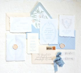 Sam Allen Creates - Handmade Paper Fine Art Wedding Invitation 9