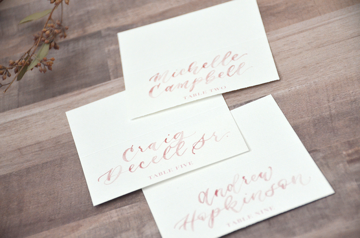 Dusty-Rose-Watercolor-Brush-Calligraphy-Table-Number-Tent-Cards-Escort-Cards-for-Wedding-Reception-by-YourNewFriendSam-on-Etsy