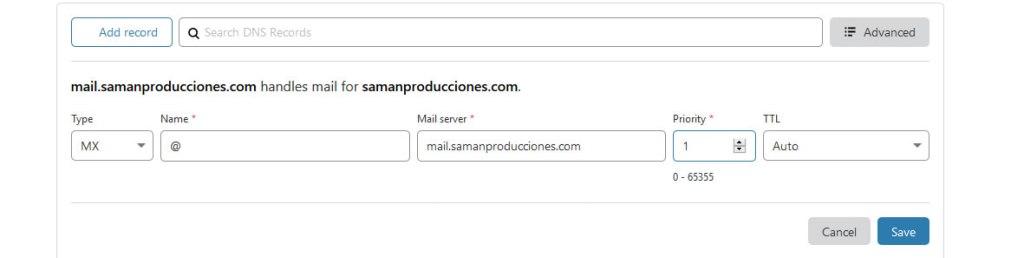 MX Cloudflare