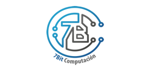 Logo 7 bit computacion