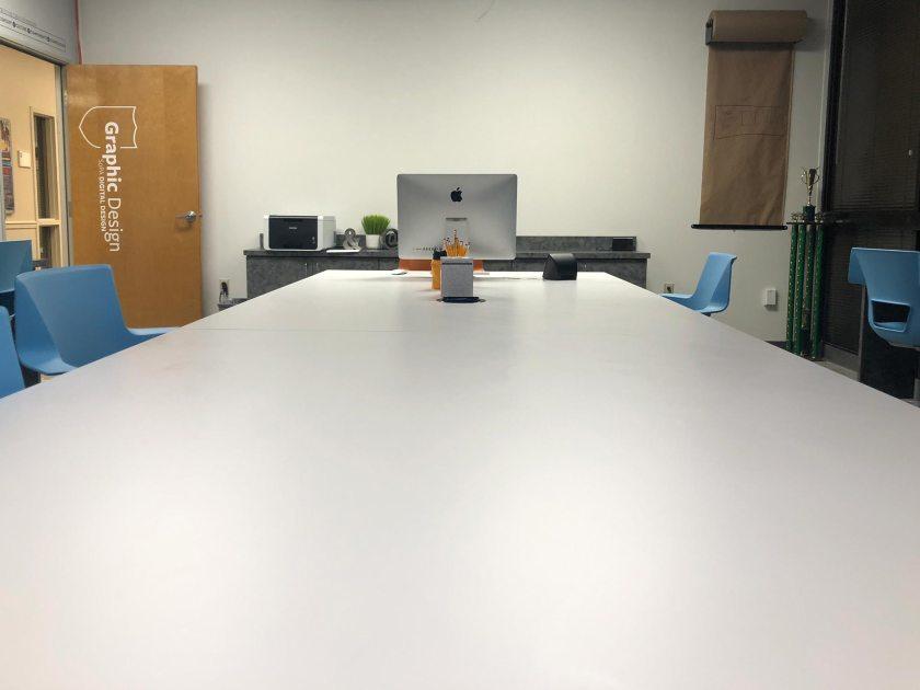 Tulane University School of Professional Advancement – Graphic Design Classroom