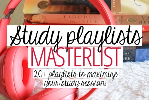 study playlists college