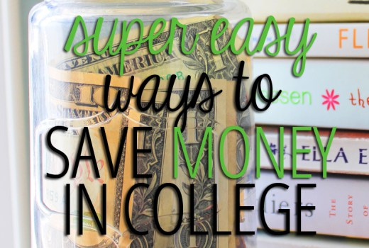 saving money in college