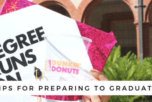 preparing to graduate