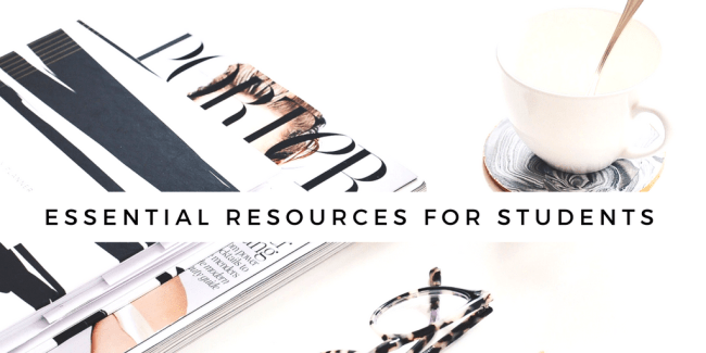 Essential resources for college students