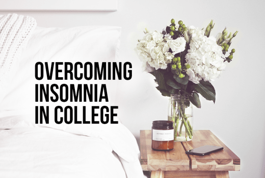 overcoming insomnia in college
