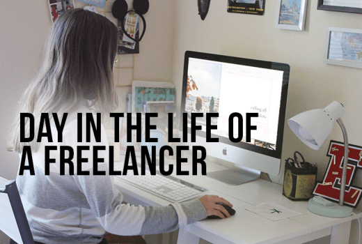 day in the life of a freelancer