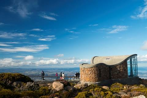 View from Mount Wellington lookout