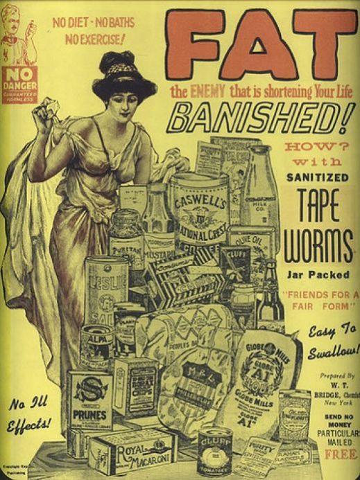 fad diet - tapeworm