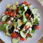 easy healthy watermelon chicken salad