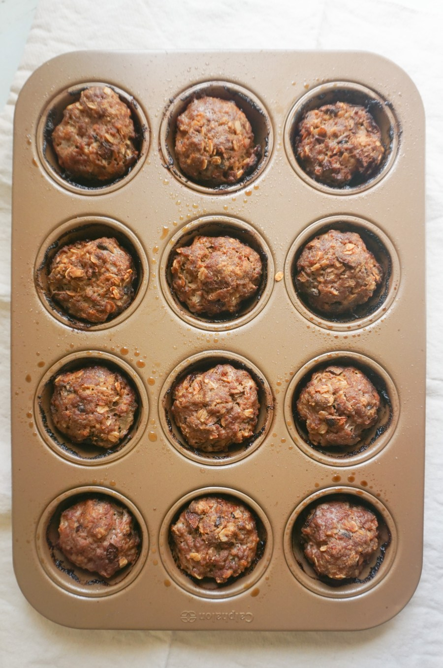 meatloaf muffin tin meatloaves