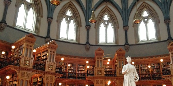 The Library of Parliament, Ottawa, ON