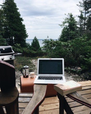 Writing on Manitoulin Island