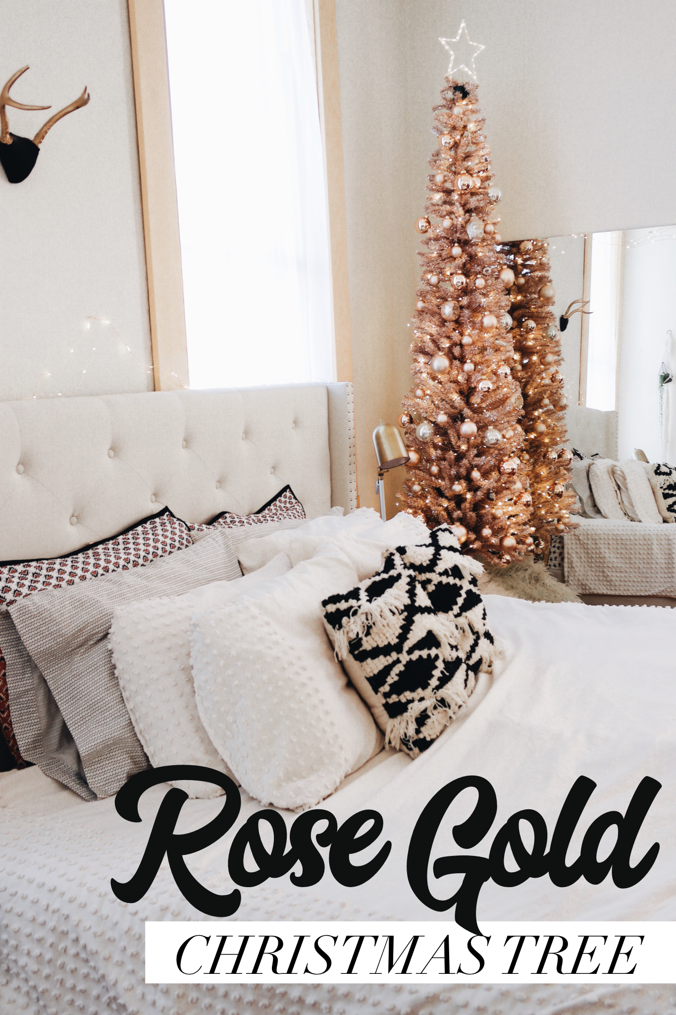 Rose Gold Christmas Tree Samantha Hauger