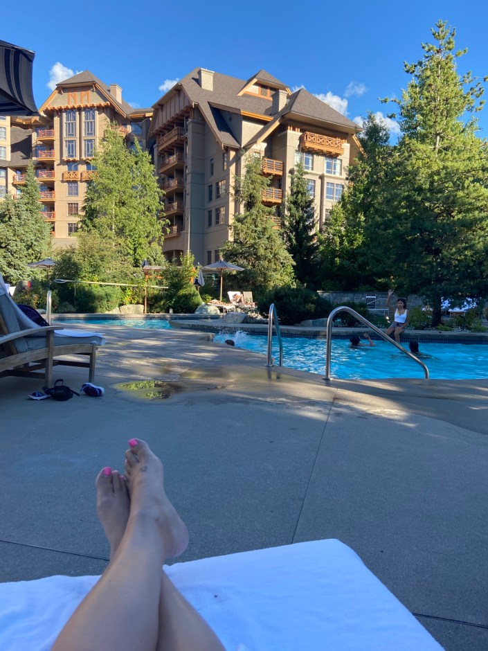 four seasons whistler pool