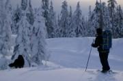 Snow camping at Dakota Ridge