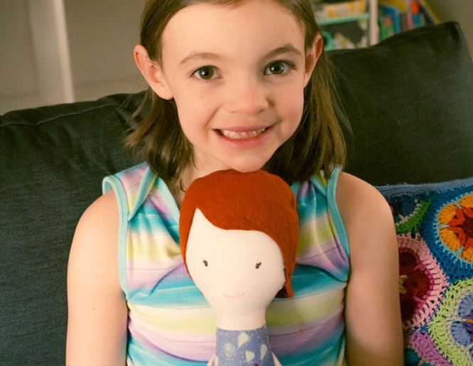 My Tooth Fairy Doll Pattern on Sew Mama Sew!