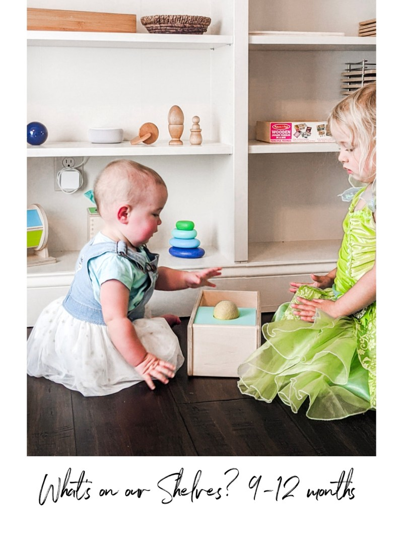 What's On Our Shelves at 9-12 Months?