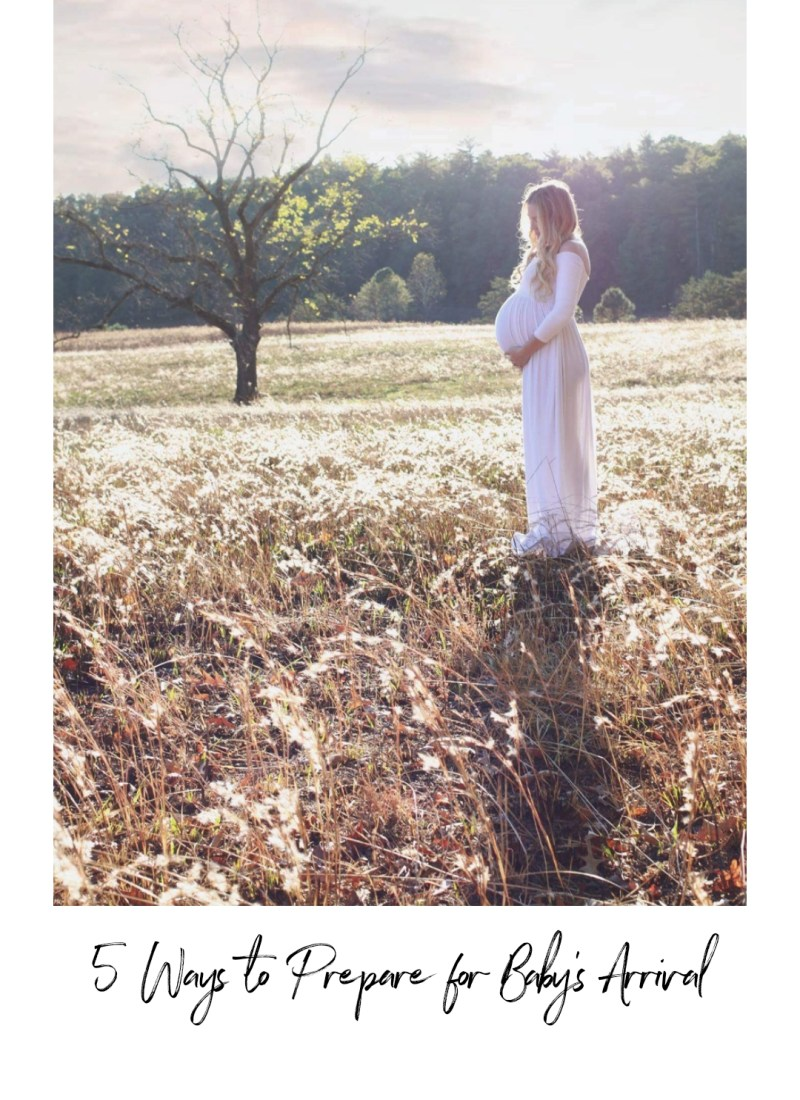 5 Ways to Prep for Baby's Arrival