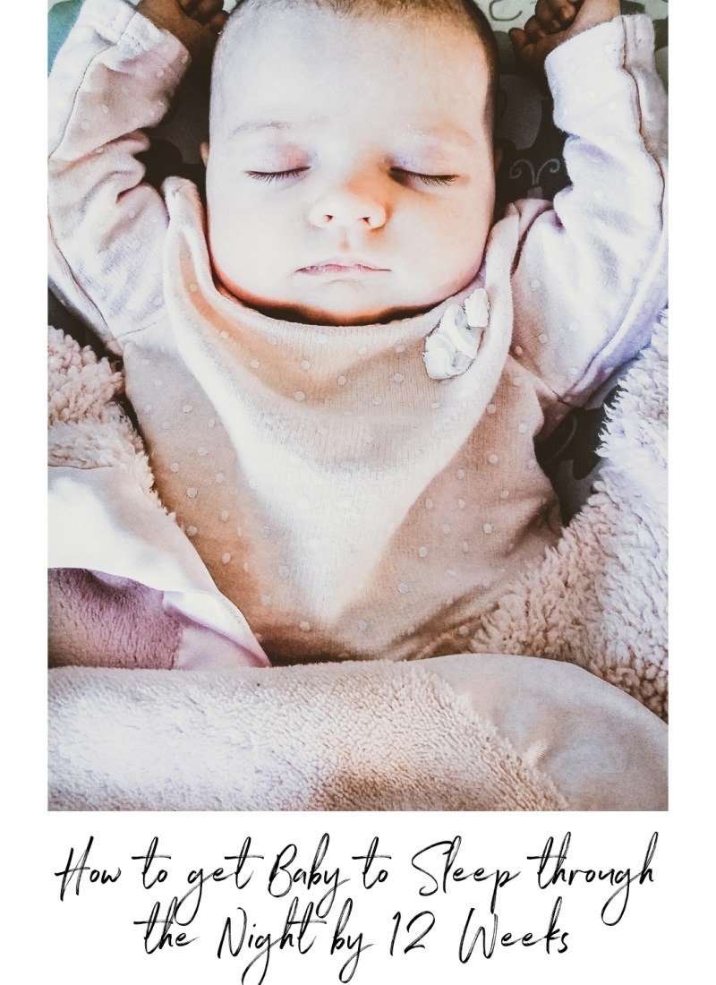 How to Get Baby to Sleep Through the Night by 12 Weeks / 12 Pounds