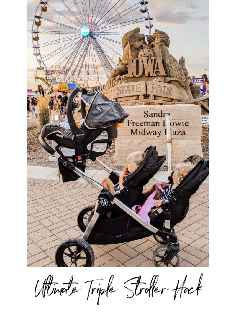 City Select Baby Jogger Triple Stroller Hack