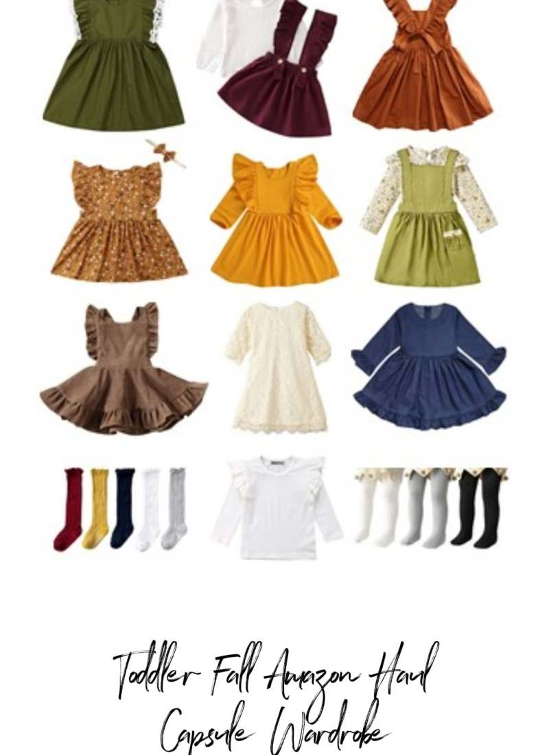 Toddler Girl Amazon Fall Capsule Wardrobe