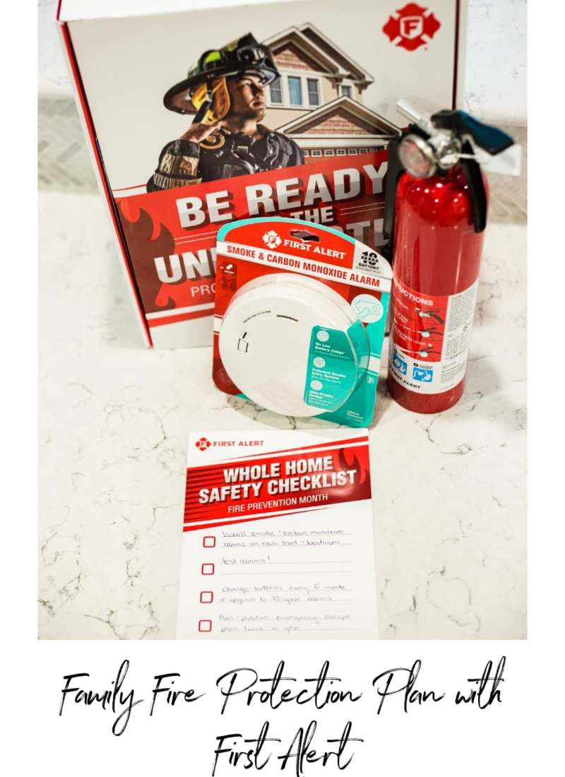 Family Fire Protection Plan with First Alert