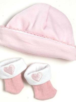 Hat/Sock Set - Pink