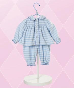 Blue Pajamas Outfit
