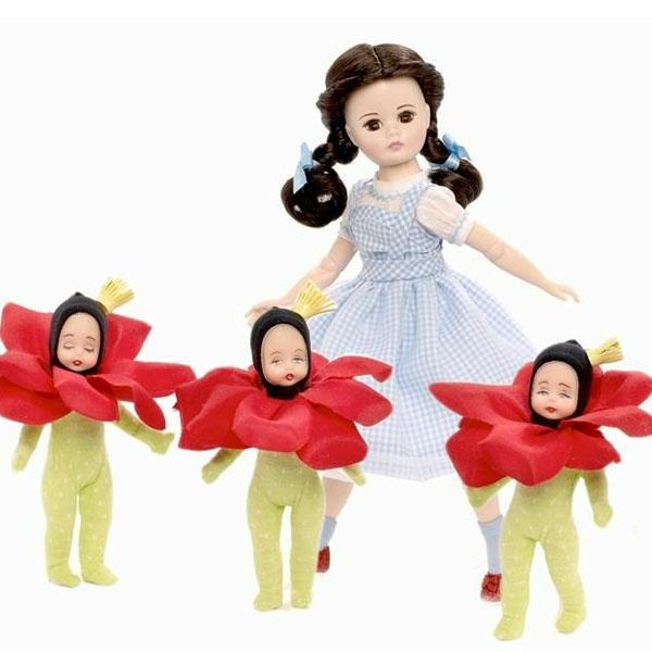 Dorothy In The Poppy Field