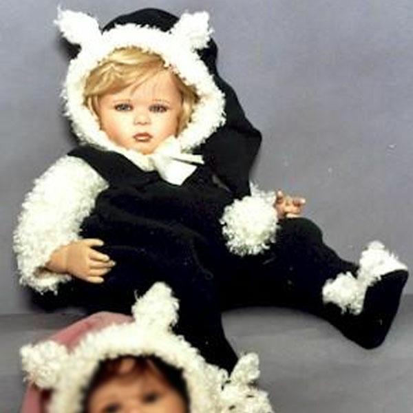 Zoe, Vinyl Doll by Ruth Treffeisen