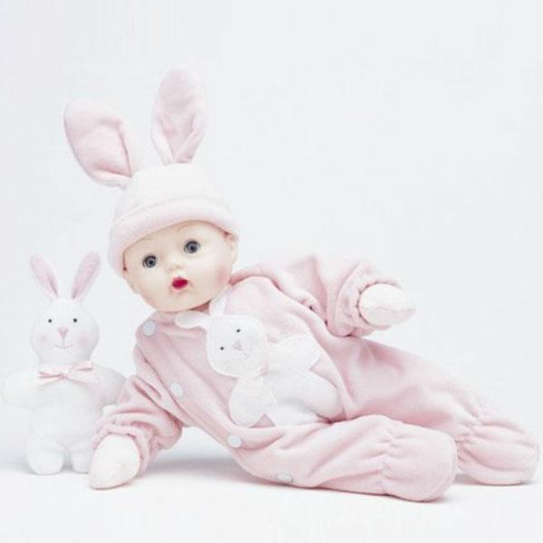 Bunny Huggums 12'' Doll & Bunny Plush Toy