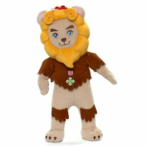 The Wizard of Oz Cowardly Lion Washable 12'' Doll