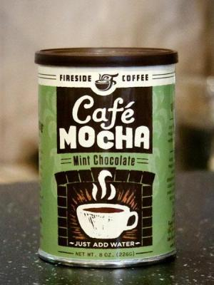 mint chocolate cafe mocha