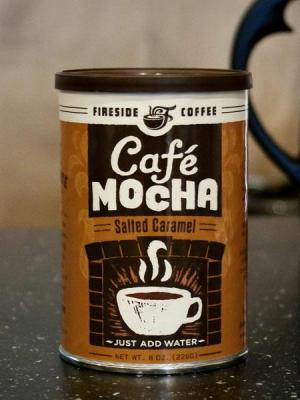 salted caramel cafe mocha