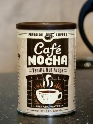 Vanilla Nut Fudge Cafe Mocha