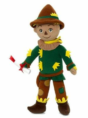 The Wizard of Oz Scarecrow Washable 12'' Doll