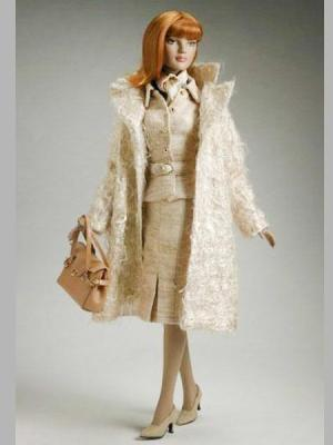 American Style Coat & Handbag Set - Outfit Only