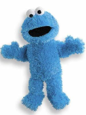 Cookie Monster Full Body Puppet