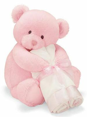 My First Teddy Loveable Hugs Pink