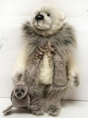 Eskimo with Seal