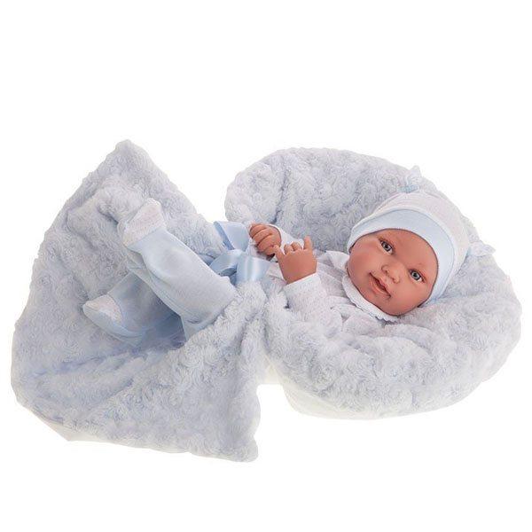 Newborn Boy Pipo with Blanket