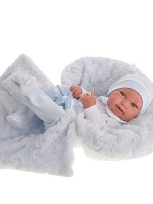 Newborn Boy Pipo with Blanket