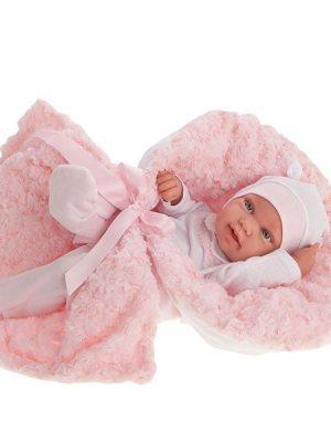 Newborn Girl Pipa with Blanket