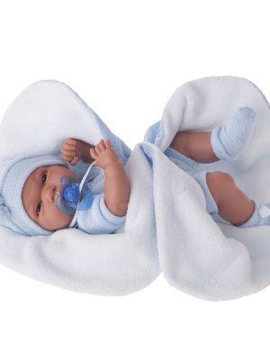Baby Tonet Boy with Blanket