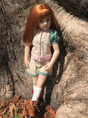 Savannah American doll