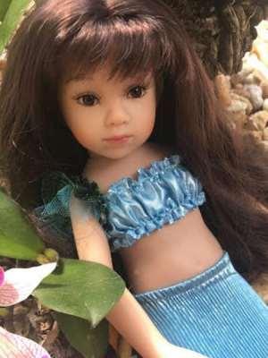 Little Mermaid Doll Poppy