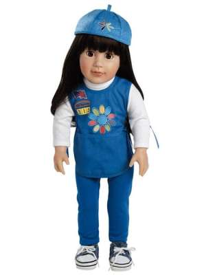Abigail, Daisy Girl Scout