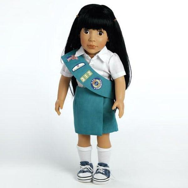 Ava, Junior Girl Scout