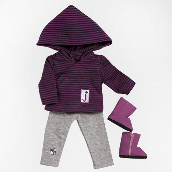 Girl Scout Junior Hooded Shirt/Leggings Set